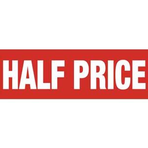 Half Price Banner