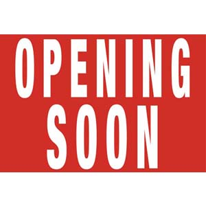 Opening Soon Poster