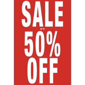 Sale Up To 50% Off Posters
