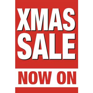 Xmas Sale Posters